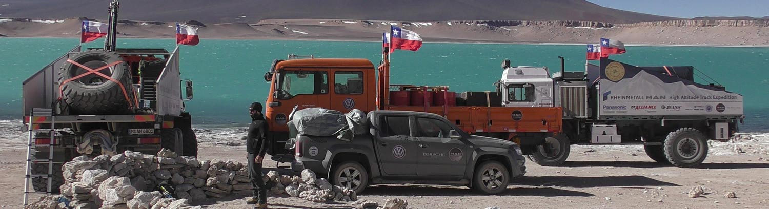 High Altitude Truck Expedition